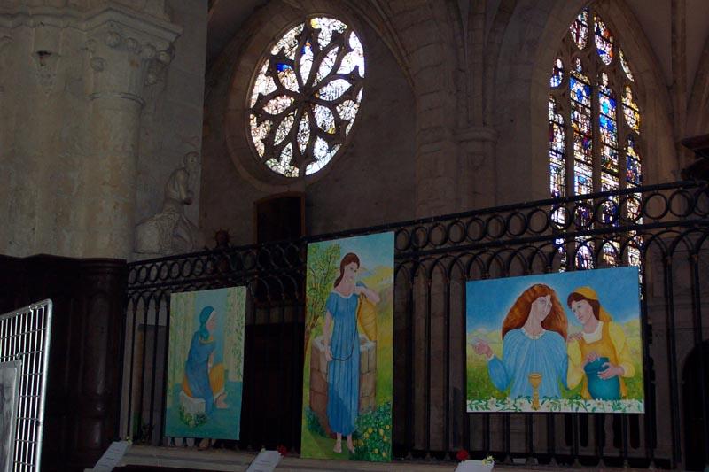 Exposition 2011 «Les figures féminines entre art et spiritualité»