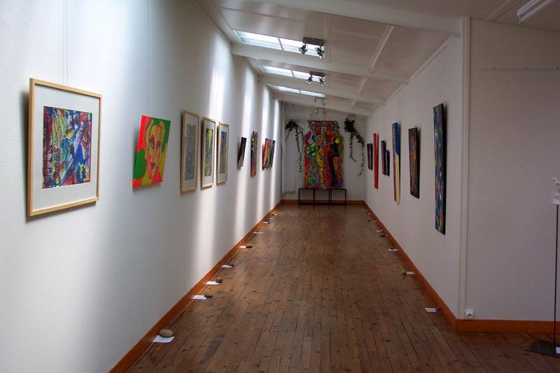 Exposition à Anglure 2008 «Les femmes végétales»