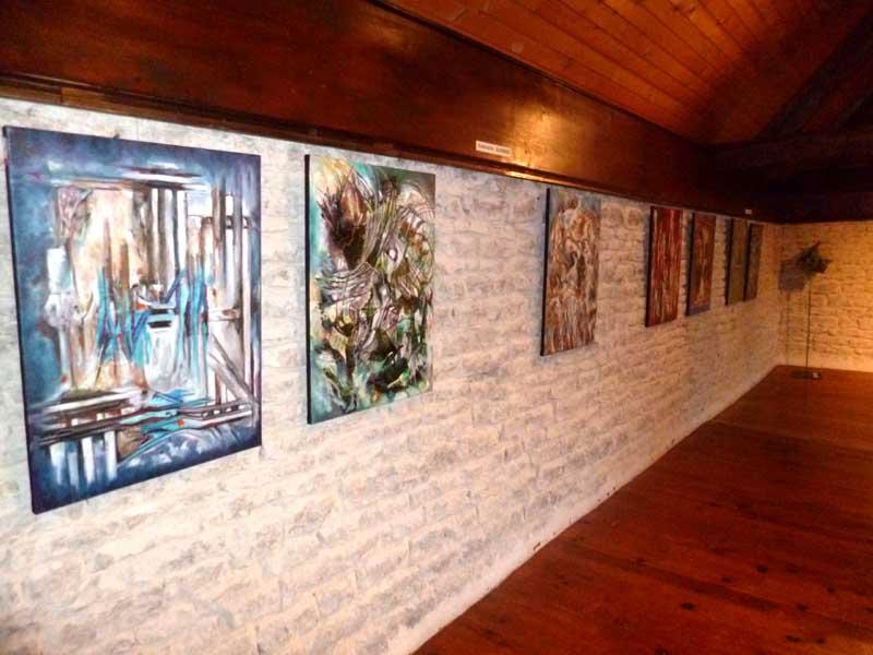 Exposition peintures 2015 au Musée LOUKINE/ église de Pargues
